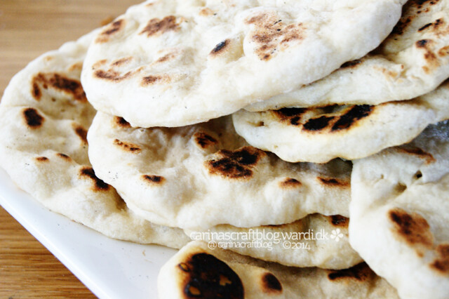 Vegan naan recipe