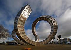 Christchurch. Public Art works. NZ