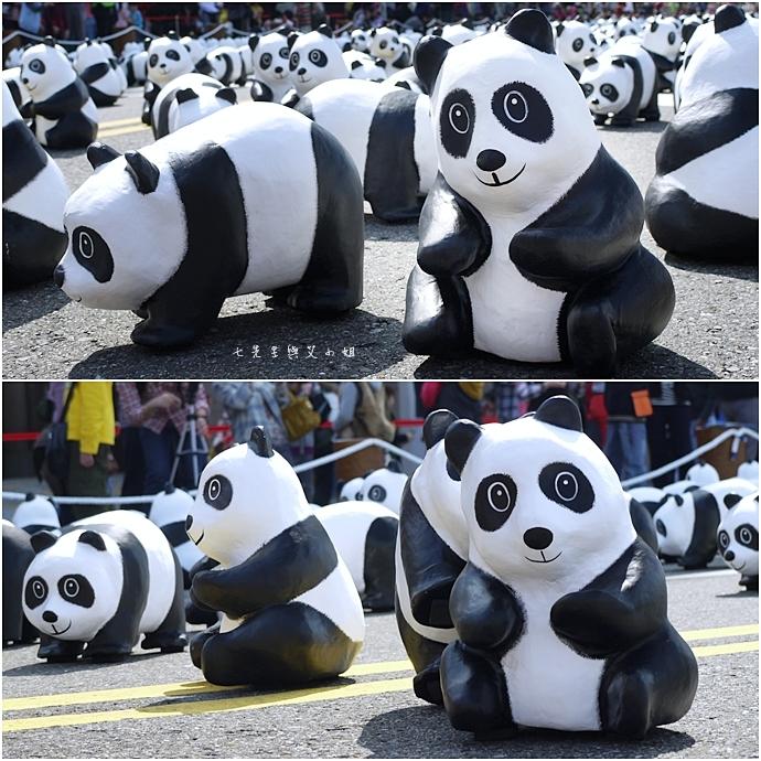 3 紙貓熊 1600貓熊之旅-台北 0224 台北市政府廣場展覽