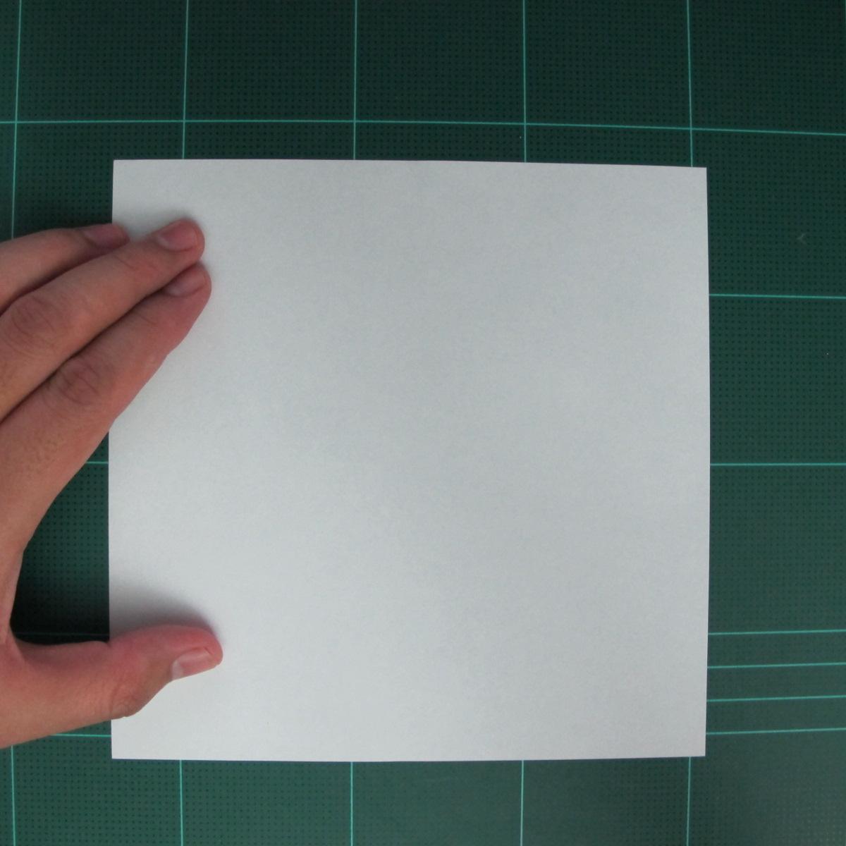 การพับกระดาษเป็นรูปตัวเม่นแคระ (Origami Hedgehog) 002
