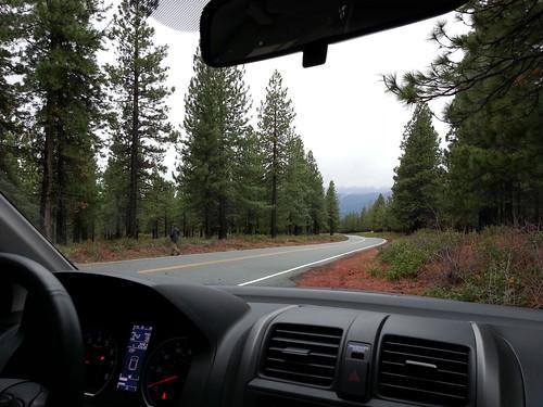 Towards Mt. Shasta