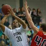 2014-03-23 -- CCIW men's basketball vs. Carthage