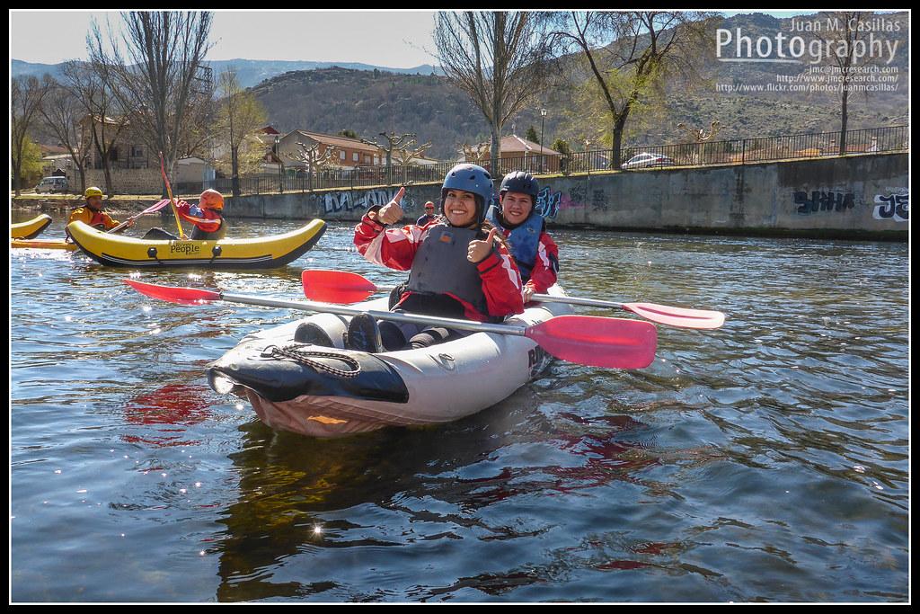 Capit n penurias 39 climbing guide kayak en el alberche 8 for Piscina natural navaluenga