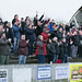 The Bankies faithful celebrate at the final whistle by Stevie Doogan