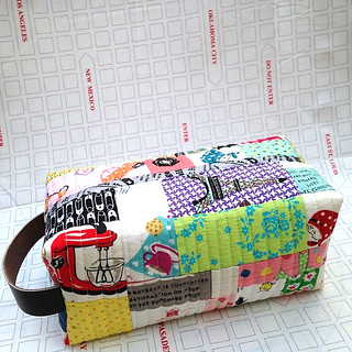 This is a #psboxypouch from the tutorial by @greenletterday.