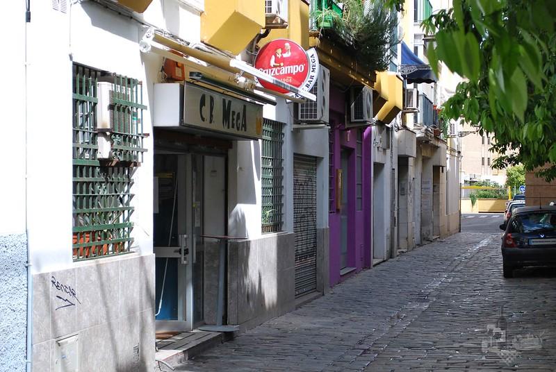 Fachada CB Mega Sevilla