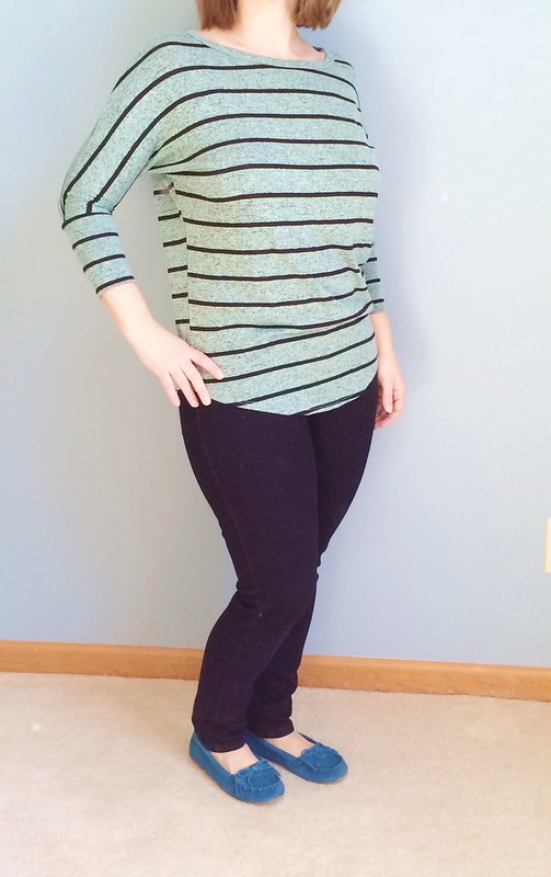 Stitch Fix Striped Dolman Top