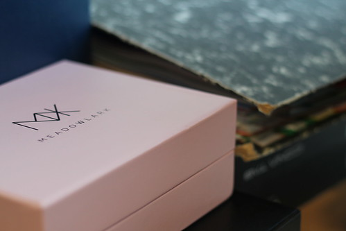 Thursday: pretty pink box