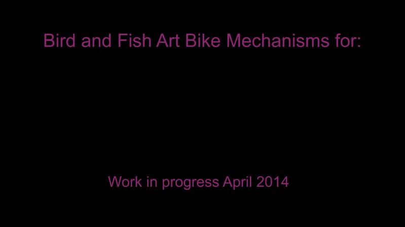 Tour de Tod Art Bikes - work in progress