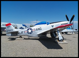 P-51D at Fresno ANG Base