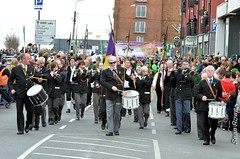 Views of the parade in Wexford, Ireland...