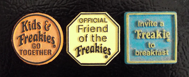 "1970's Ralston Freakies Cereal ""Sayings"" Magnets"