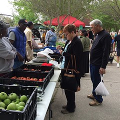 Next week's market will also feature earth day activities.