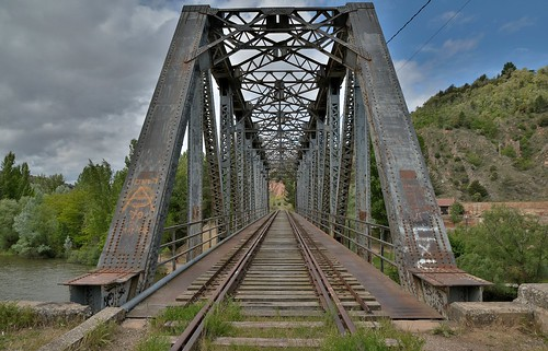 Viaducto sobre el Duero. Soria.