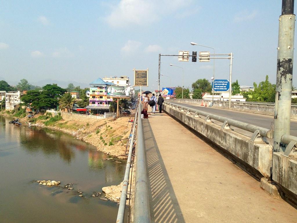Myawaddy, Myanmar. 16