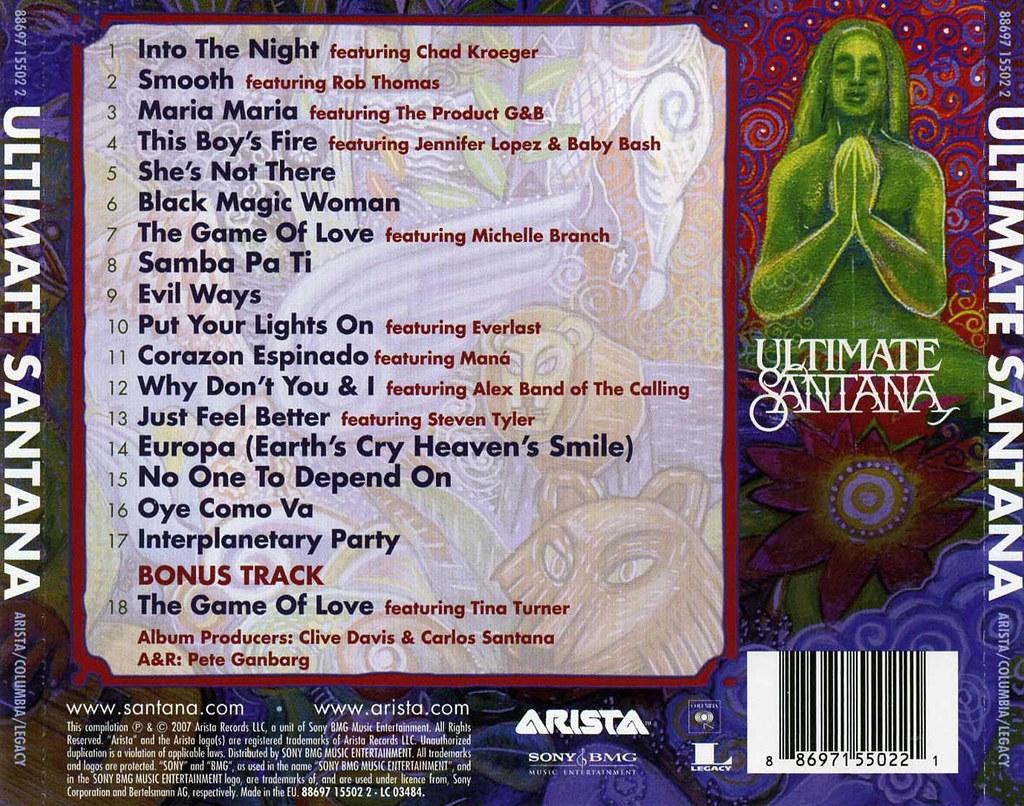 Santana The Ultimate Collection: Ultimate Santana (iTunes -M4A)