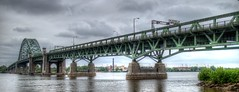 girder bridge, river, truss bridge, cantilever bridge, arch bridge, waterway, bridge,