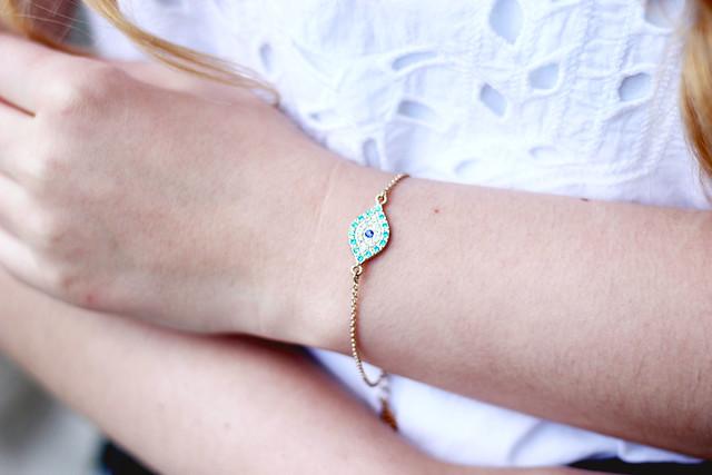 Accessorize Eye Bracelet