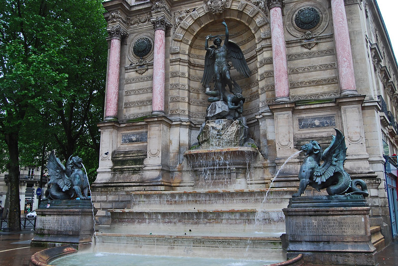 Fountains, Paris