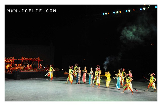 Ramayan ballet open performance