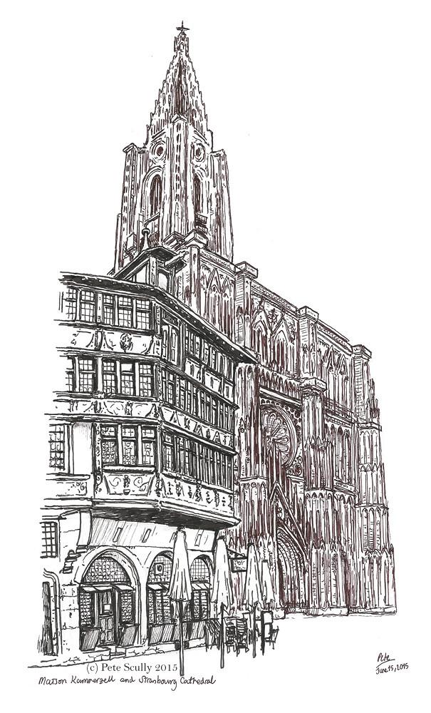 Cathedrale de Notre Dame de Strasbourg, and Maison Kammerzell
