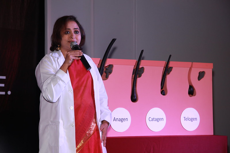 Dr. Aparna explaining the A-C-T Cycle