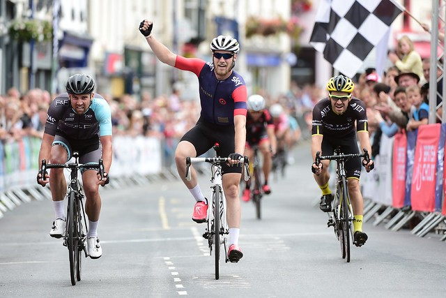 Elite Road Series round 7, Grand Prix of Wales, August 9 2015