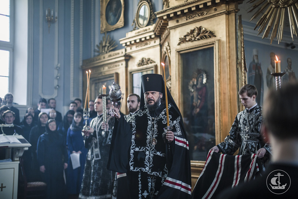 9 апреля 2017, Утреня Великого Понедельника / 9 April 2017, Matins Of Holy Monday