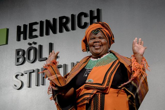 Nomarussia Bonase (Menschenrechtsaktivistin, Südafrika) Foto: stephan-roehl.de