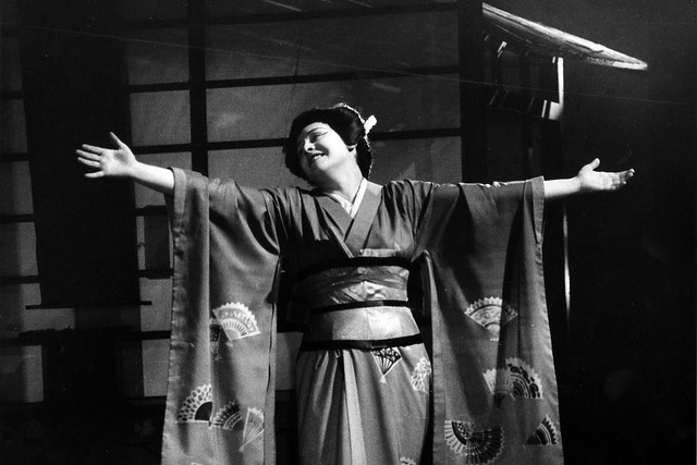 Sena Jurinac as Cio-Cio-San in the 1959 revival of Madama Butterfly (1950) © ROH Collections