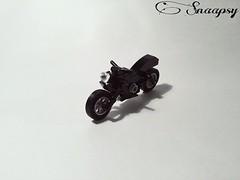 Speedy motorbike