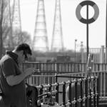 Candid at Preston Docks