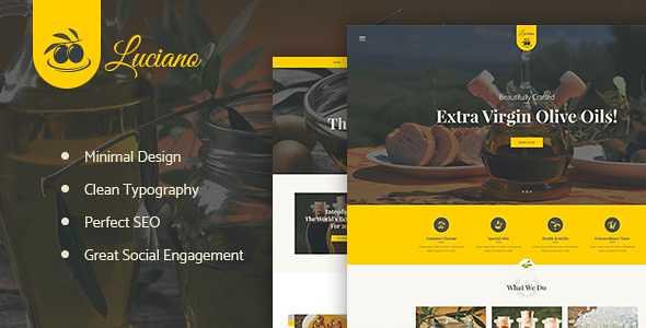 Olive WordPress Theme free download