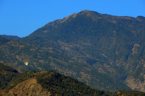 leblu montagnes necha nepal préci solukhumbu village