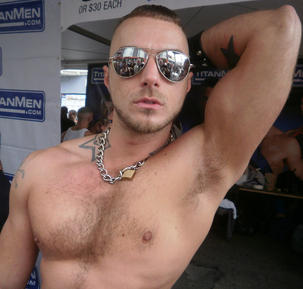FOLSOM STREET FAIR RE-MIX (re-edited & re-cropped) HOT PIT (SAFE PHOTO)