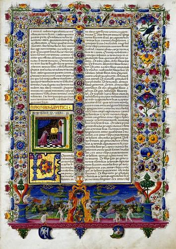 003-Bibbia di Borso d'Este-Vol 1- Hoja 113- Biblioteca Estense de Módena