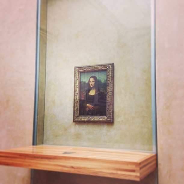 Points are doubled in round two of Name That Painting. #thelouvre #iannagoestoeurope #captainobvious
