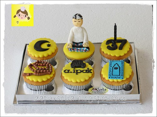 Cupcake Set with Religious Theme