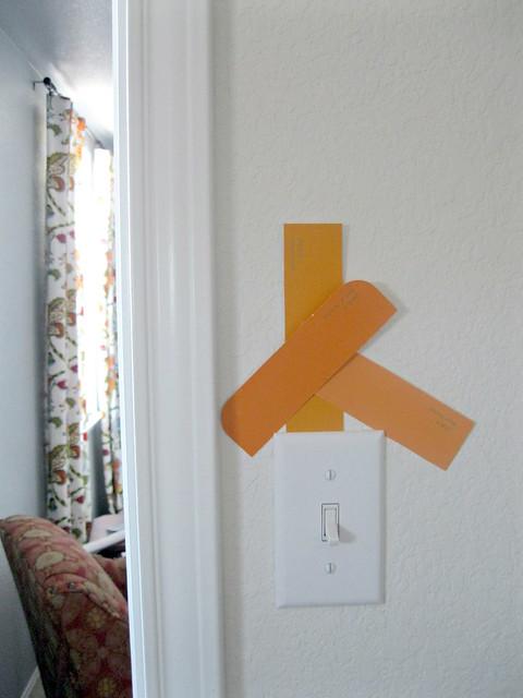 orange paint choices