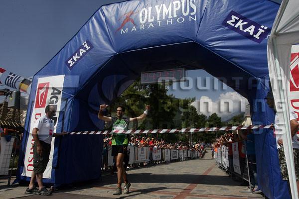 O Καταλανός Jessed Hernandez νικητής του Olympus Marathon 2007 με ρεκόρ αγώνα (4.33.37)