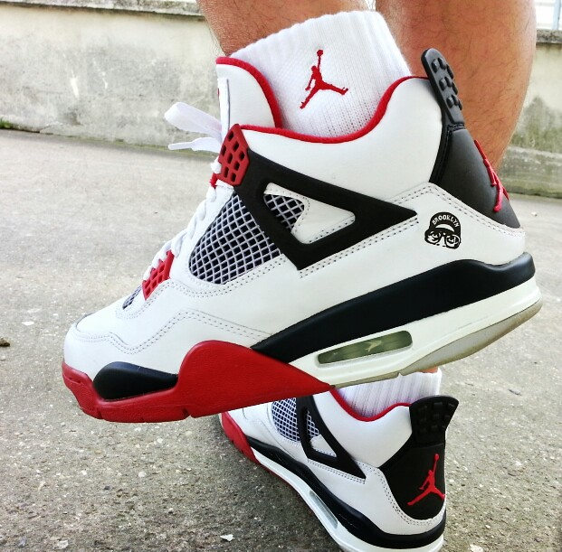 ... Air Jordan 4 Fire Red 2006 (Mars Blackmon)  0217621bb