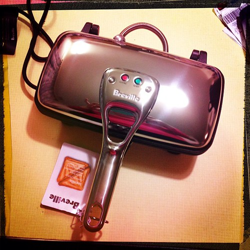 Oh the joys!!! My husband got me the new/old Breville Original '74 Jaffle maker!! That is true love!