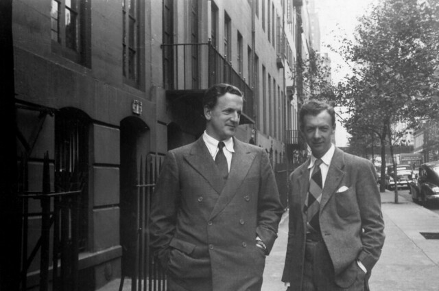 Benjamin Britten with Peter Pears in Brooklyn 1940 © Britten 100