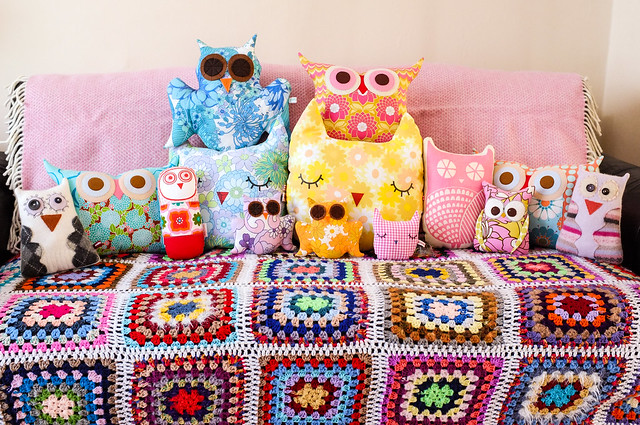My owl collection (well, some of it...)