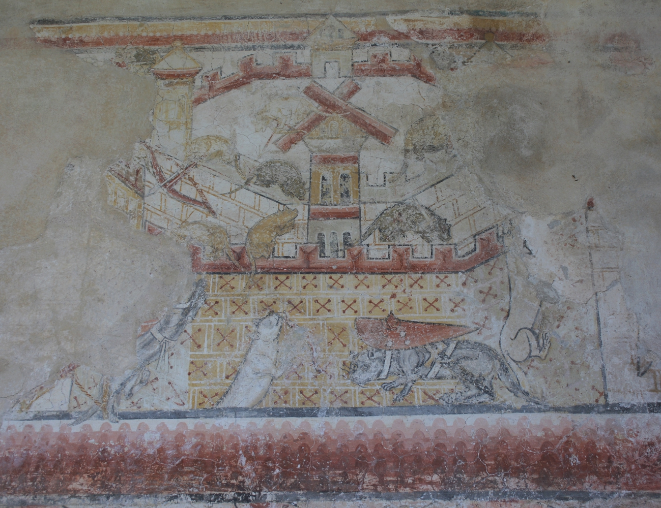 Wall painting camera picta medieval wall painting news 32014 amipublicfo Image collections