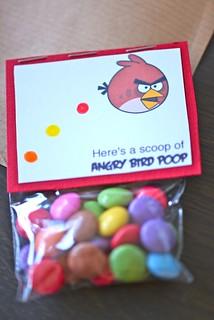 Angry Birds Favor Bag
