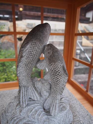 松尾大社 幸福の双鯉
