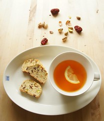 Biscotti with Korean Jujube and Pistachio 28