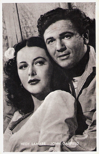 Hedy Lamarr and John Garfield in Tortilla Flat