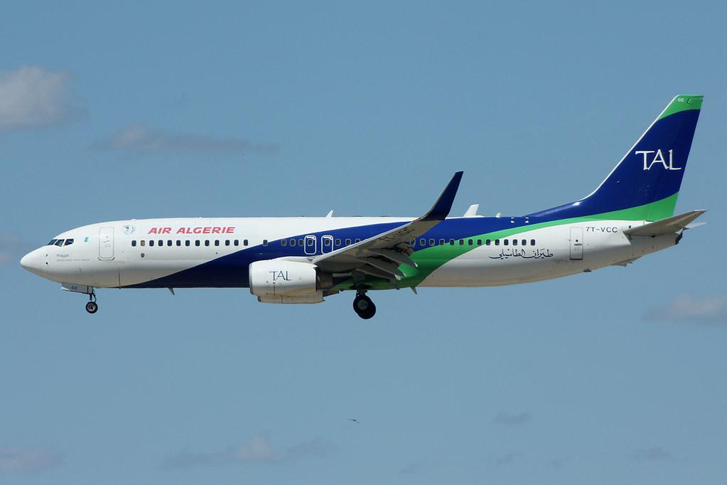 7T-VCC - B738 - Tassili Airlines